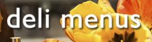 Deli Menus Webpage