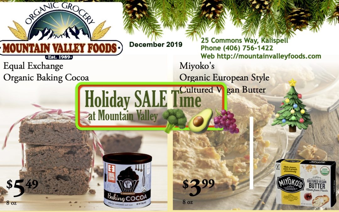 ⛄️ Delicious December Sale Items @ MVF! 🎄